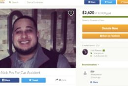 Hit and run Lyft accident, need deductible
