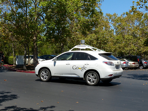 Self driving rideshare car