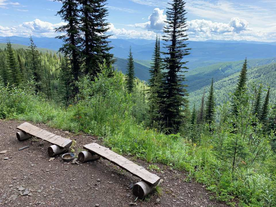 Alder Point lookout on the Beowulf trail