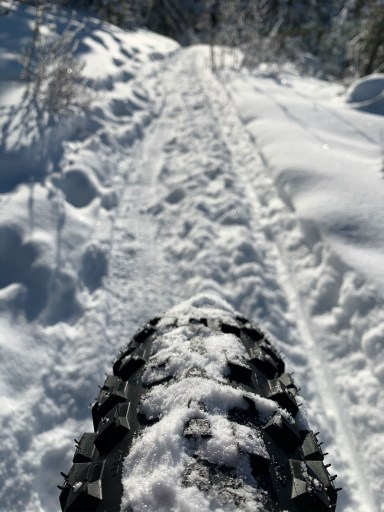 winter fat biking helps build fitness and skill for the summer mountain bike season
