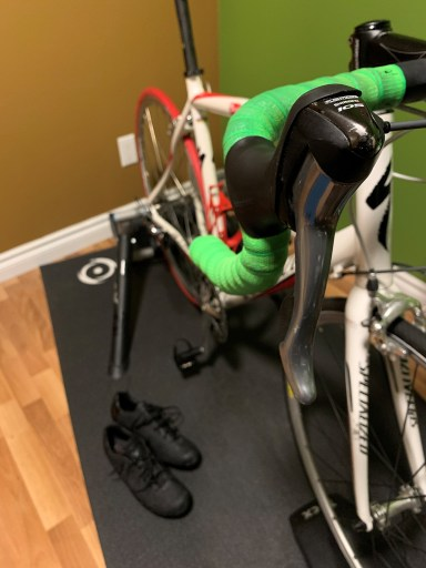 Riding the indoor trainer is a great way to maintain fitness over the winter