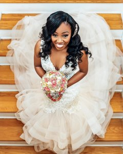 Black Bride Wedding Tampa