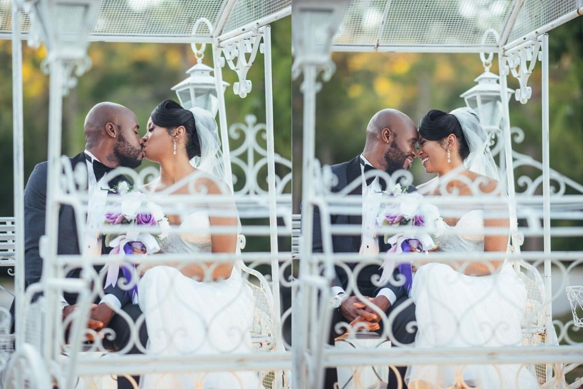 Black Couple Wedding Photos