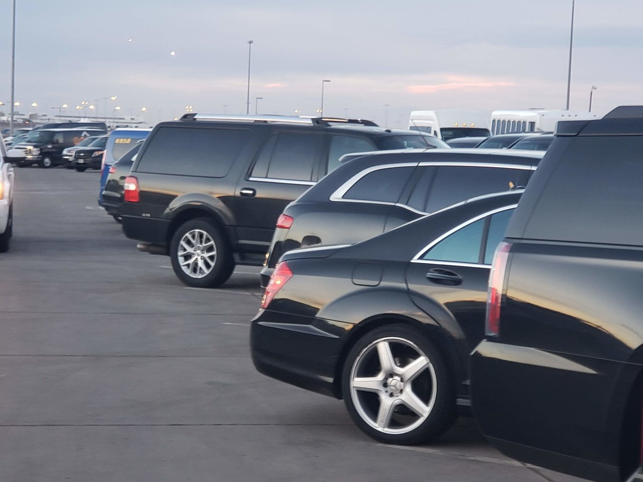 Private fleet of cars for ride to DIA