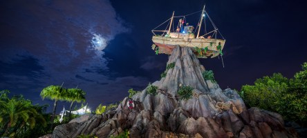 Typhoon Lagoon at Night