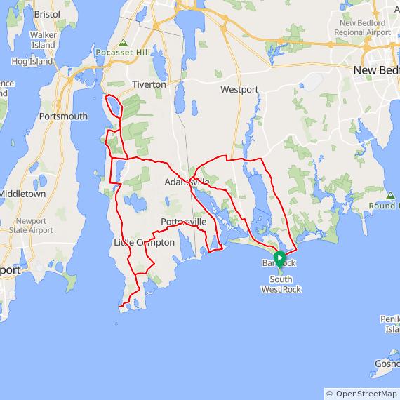 Rhode Island Sound And Buzzards Bay Bike New England