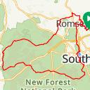 RideWithGPS route thumbnail