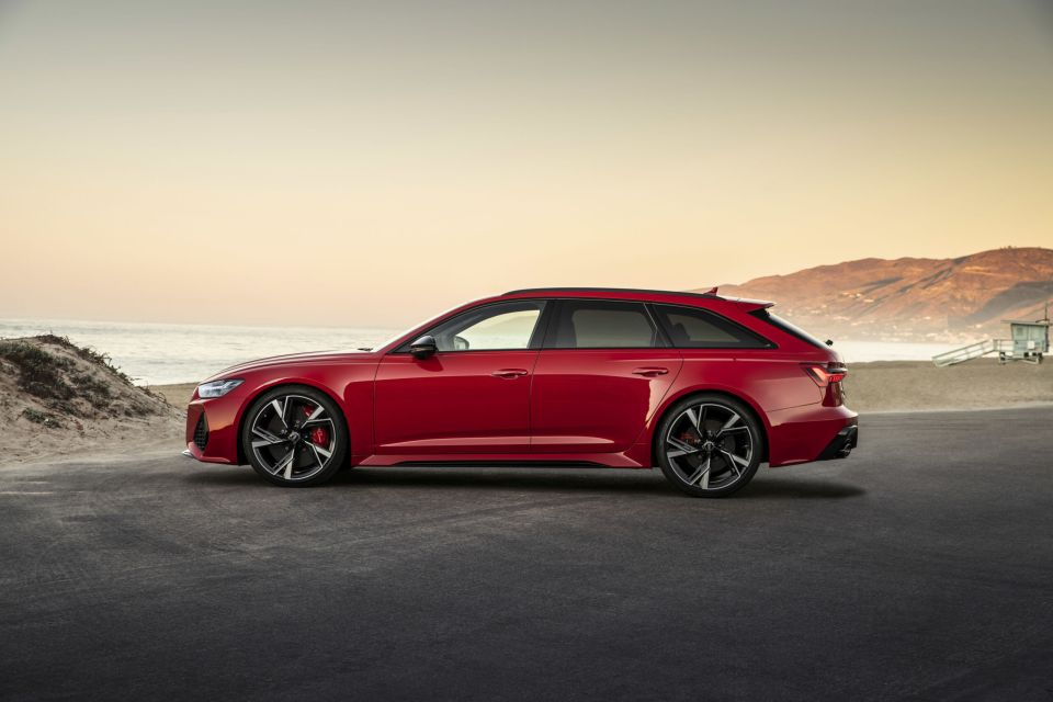 2021 audi rs 6 avant  welcome to america  ridexdrive