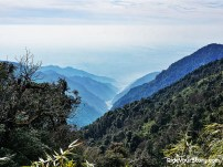 View of Diang, yet another name of Brahmaputra River, from Mayodia Pass. Named after a Nepali girl who vanished in the snow and untraceable. Over the horizon is the upper steam of Dibang , Yalung-Tasangpo in Sountern Tibet