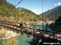 Riding thru the Dibang Valley