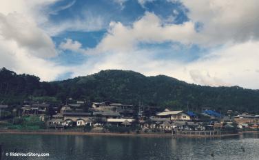Ban Rak Thai - the actual community village