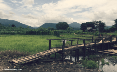 Mae Saring. A ride into the villages...