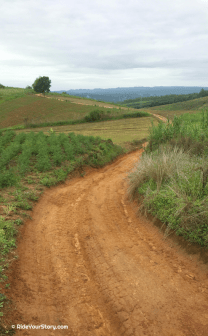 riding the hills of Phrae