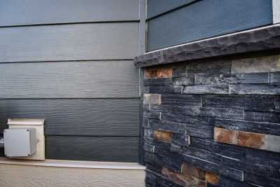 James Hardie Siding - Iron Gray - Sandstone Valley