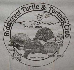 Ridgecrest Chapter of the CTTC logo on T-shirt