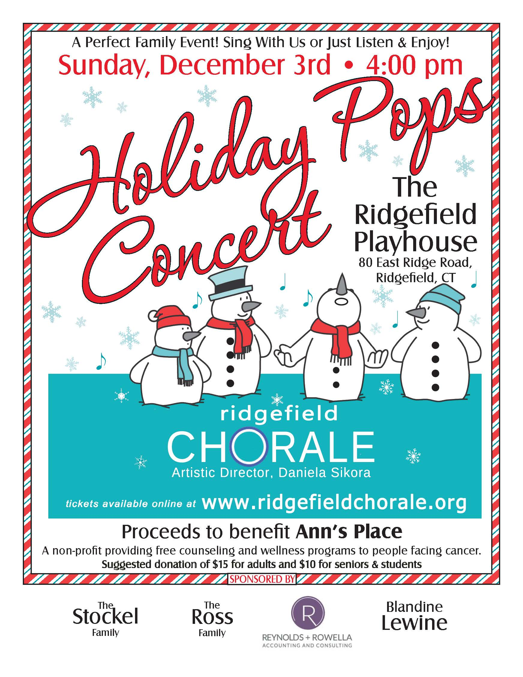 Image result for The Ridgefield Chorale Annual Holiday Pops Concert 2017