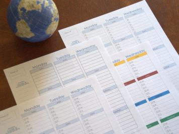 Weekly Planner Homeschool Mom