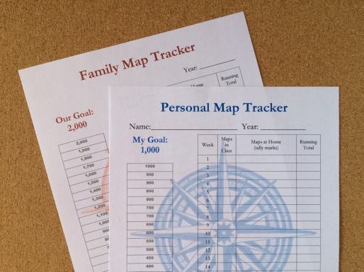 Track your maps traced and see your progress