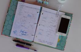 Using digital and paper planning together