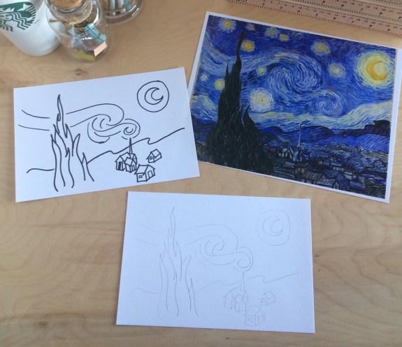 CC Week 6 Steps to drawing