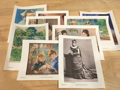 Samples of Berthe Morisot's art