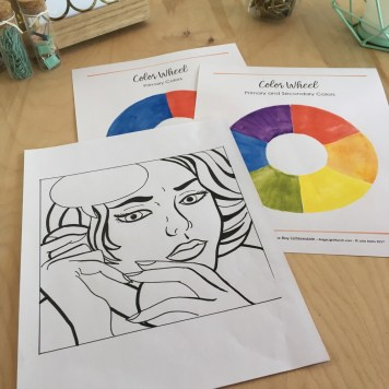 Visuals for Color Theory