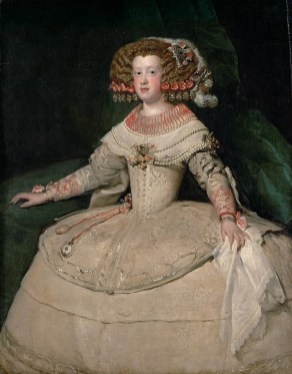 Portrait of the Infanta Maria Theresa of Spain by Diego_Velázquez_030- web