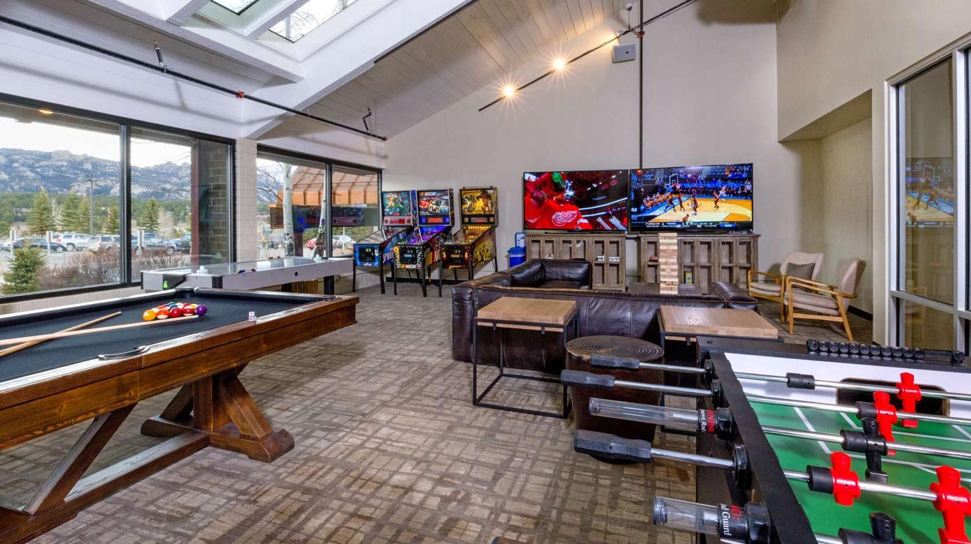 Indoor Pool Game Room Amp More Amenities At Ridgeline