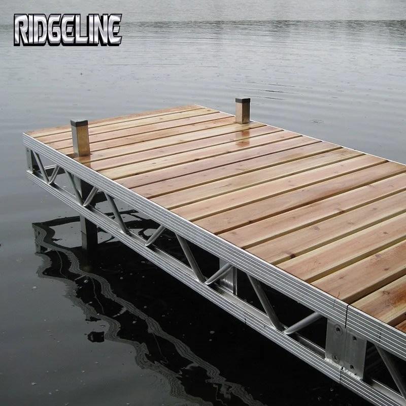 Premium Docks – Ridgeline Manufacturing – creating high quality