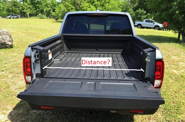 A truck for honda car people; Ridgeline Bed Width At Entry Honda Ridgeline Owners Club Forums