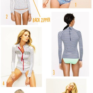 Rash Guards with Zippers