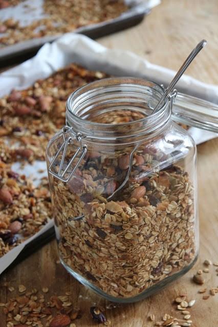 Homemade Granola Gluten Free