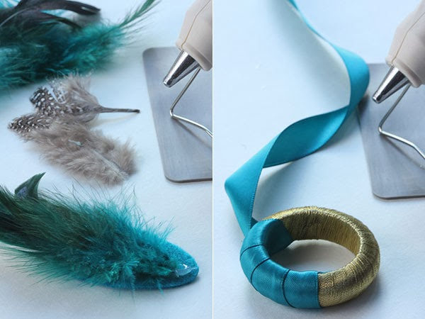 DIY Feather Napkin Rings (3) | Ridgely's Radar