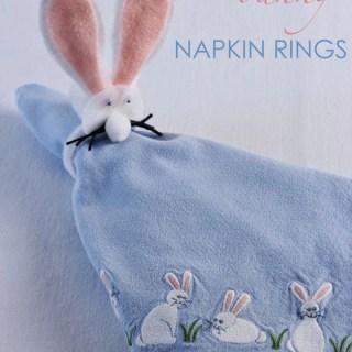 DIY Bunny Napkin Ring