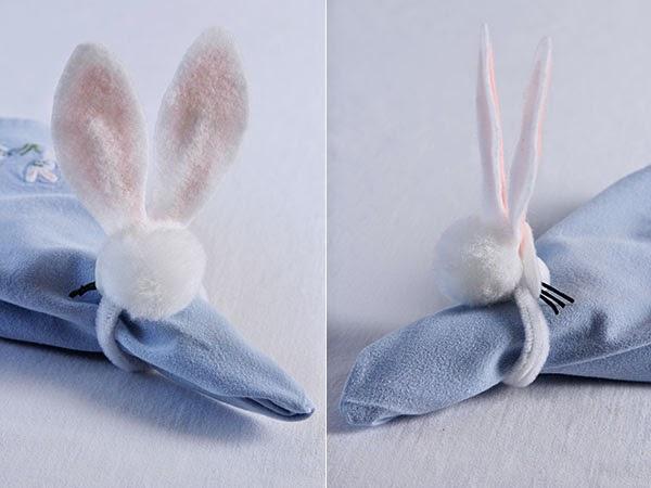 DIY Bunny napkin rings (9) | Ridgely's Radar