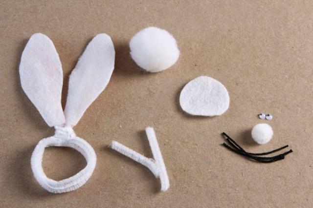 DIY Bunny napkin rings (4) | Ridgely's Radar