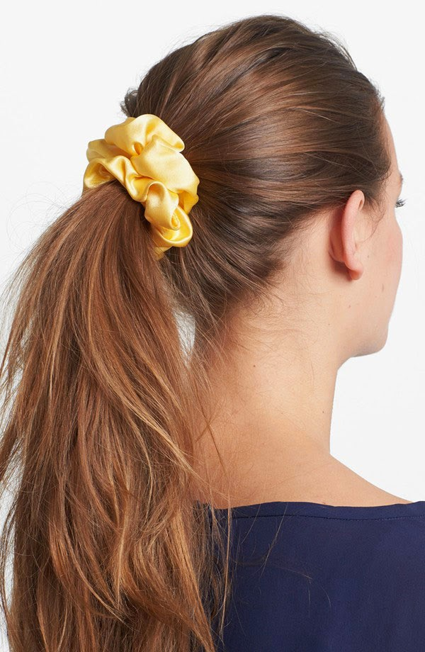 L. Erickson medium scrunchie {solid} | Nordstrom