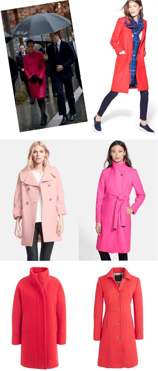 Look I love: Pink Coats! | Ridgely's Radar