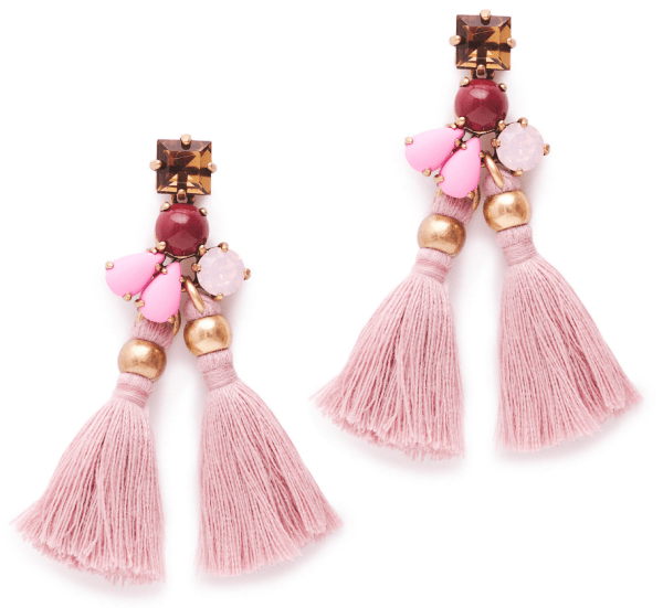 small tassel earrings | J. Crew.com