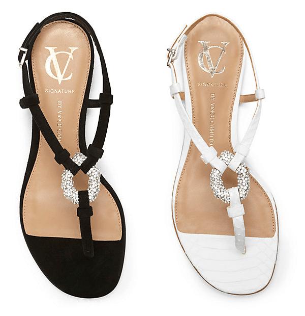 Black & White Sandals | VC Signature Bolda
