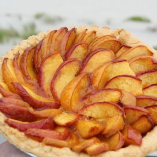 Rustic Peach Tart from Francois Payard
