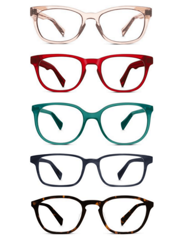 Ridgely Brode finds out it has ever has been easier to buy eyeglasses now that there is a try-on at home service from Warby Parker.