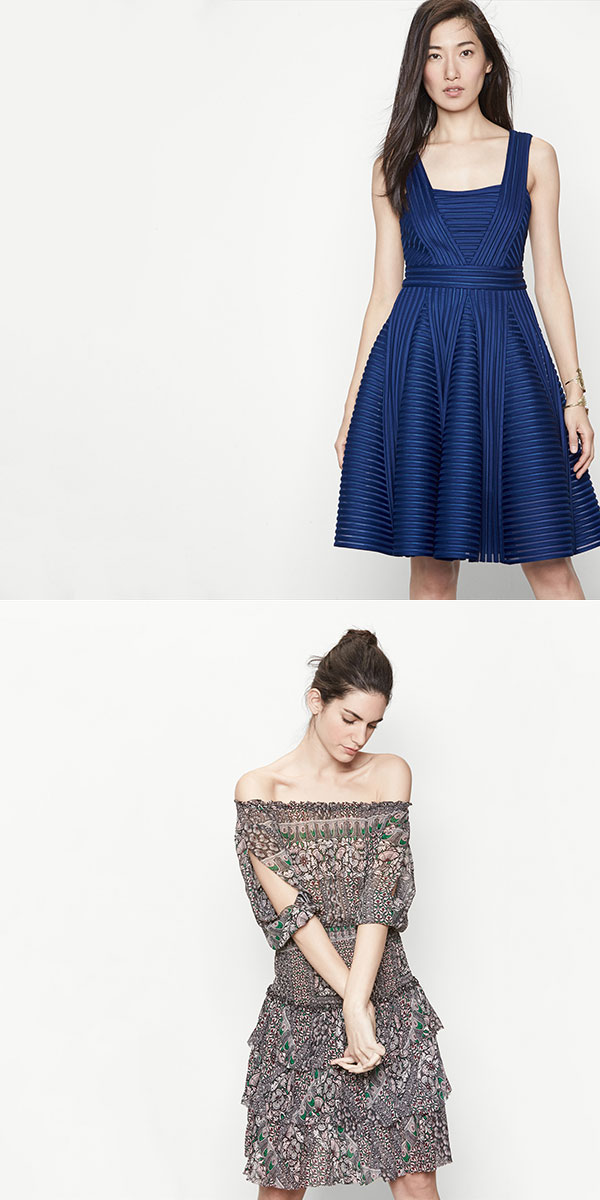 Spring Dresses from Maje