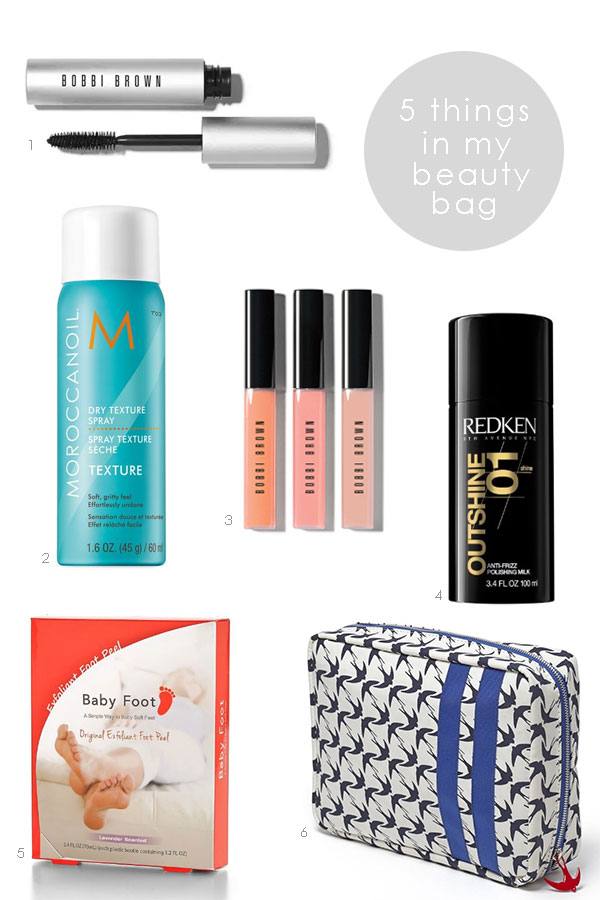 5 things in my beauty bag (01) | Ridgely's Radar