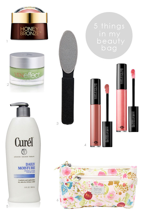 5 Things in My Beauty Bag 03 | Ridgely's Radar