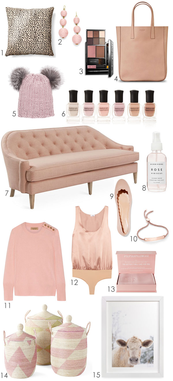 Ridgely Brode finds 15 blush pieces on Ridgely's Radar that are the perfect neutrals to go with everything