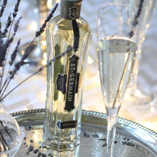 Celebrate the New Year with this St-Germain Champagne Cocktail