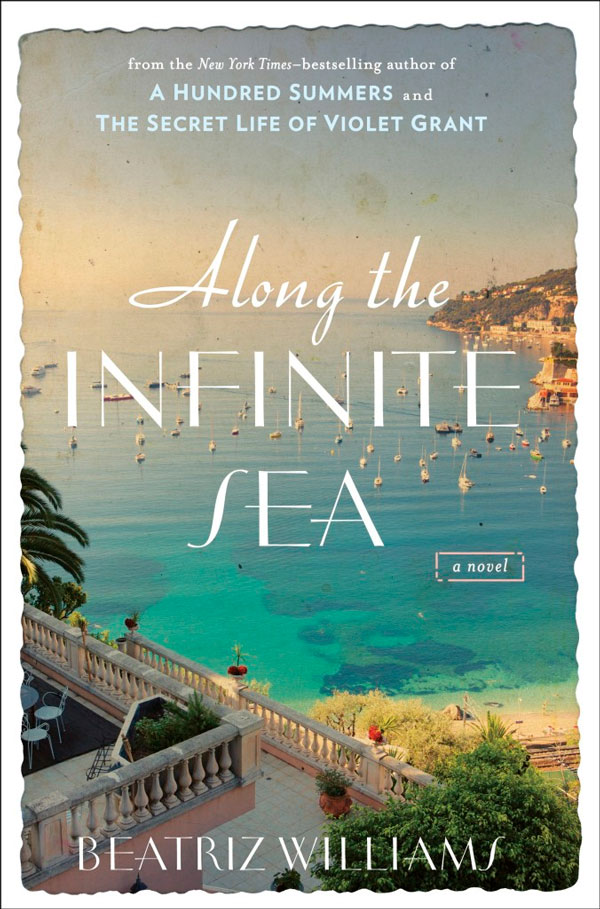 Ridgely Brode reviews the book Along the Infinite Sea by Beatrix Williams on her blog Ridgely's Radar.