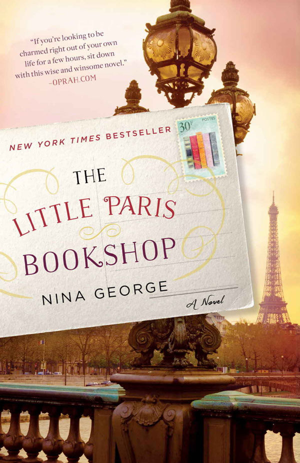 Ridgely Brode reciews 'The Little Paris Bookshop' by Nina George on her blog Ridgely's Radar
