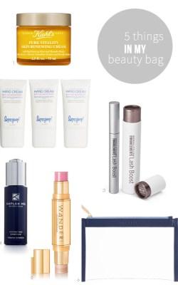 5 Things in My Beauty Bag | 08